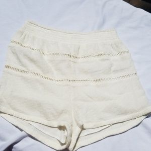 Free people cotton and knit shorts